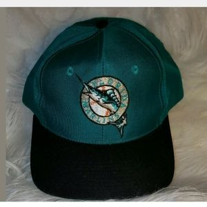 Florida Marlins The Game Vintage Snapback Hat